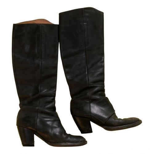 ACNE Acne Studios Pistol leather riding boots