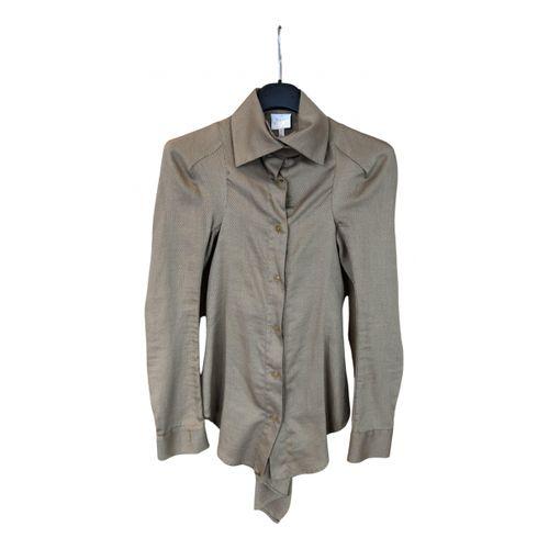 Vivienne Westwood Beige Cotton Top