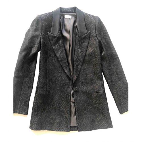 by Malene Birger Black Viscose Jacket