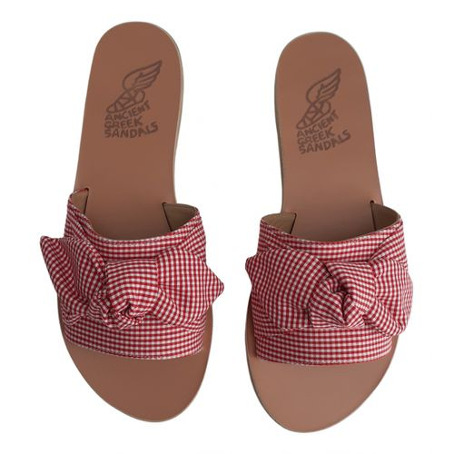 Ancient Greek Sandals Cloth mules