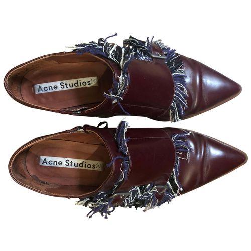 Acne Studios Leather lace ups