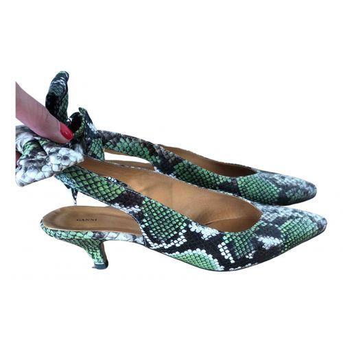 Ganni Leather sandals