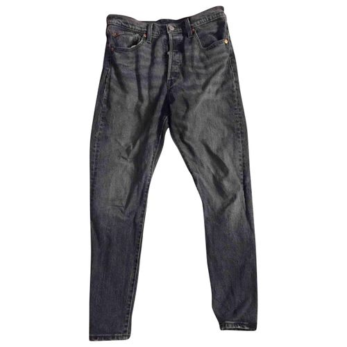 Levi's Vintage Clothing Black Polyester Jeans