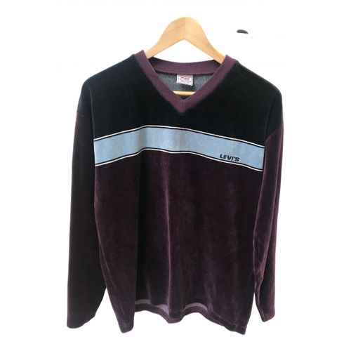Levi's Purple Cotton Knitwear