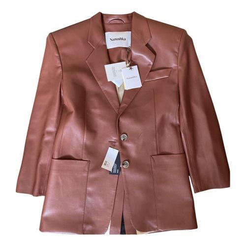 Nanushka Vegan leather blazer