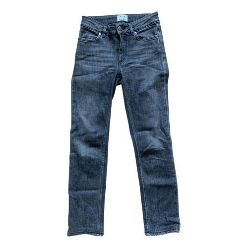 Acne Studios Grey Cotton - elasthane Jeans