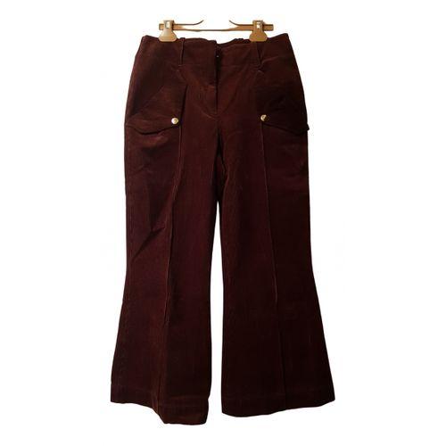 Acne Studios Velvet short pants