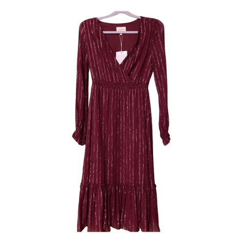 Sézane Fall Winter 2019 silk mid-length dress