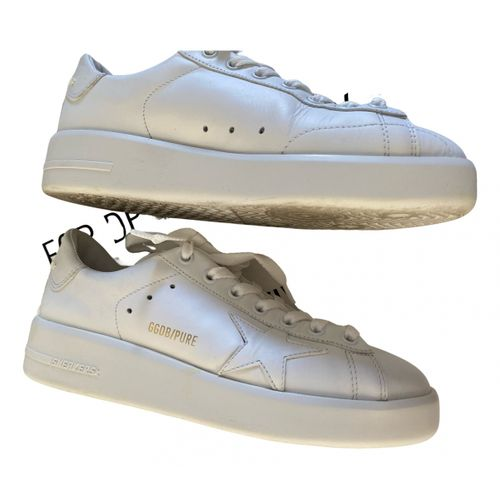 Golden Goose Pure Star leather trainers