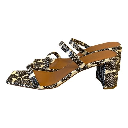 By Far Tanya leather sandal