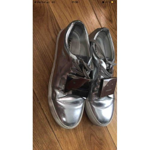 Acne Studios Patent leather trainers