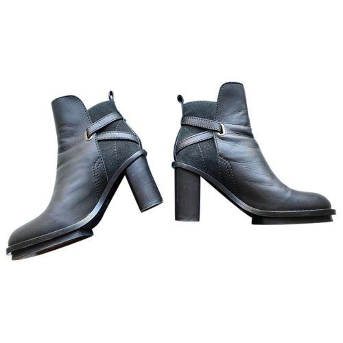 Acne Studios Cypress leather biker boots