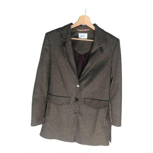 Nanushka Brown Polyester Jacket