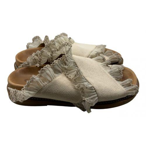 Ganni Beth cloth sandal