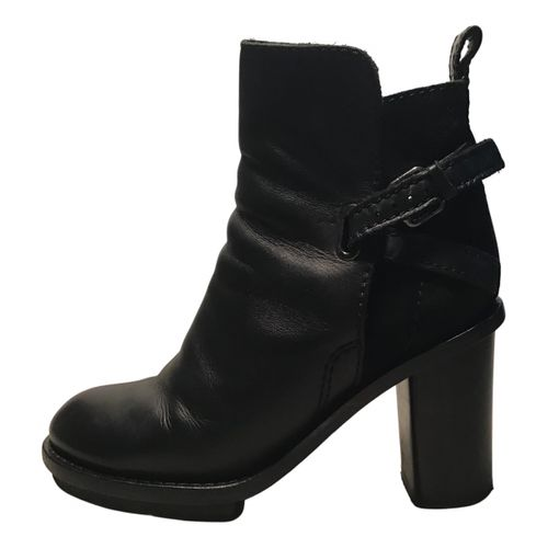 Acne Studios Cypress leather ankle boots