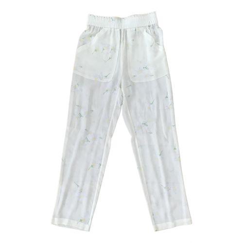 Ganni Silk trousers