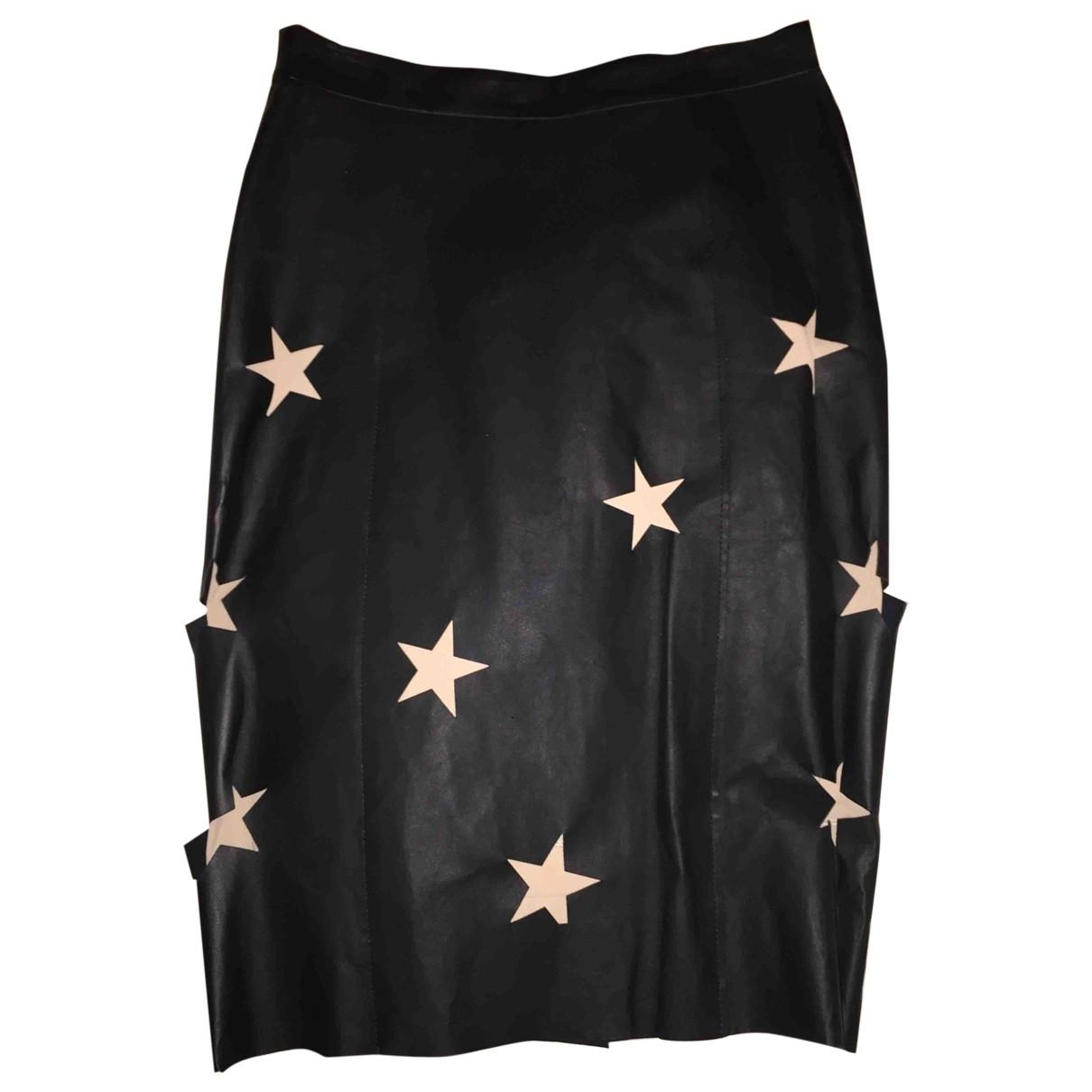 ACNE Acne Studios Leather mid-length skirt