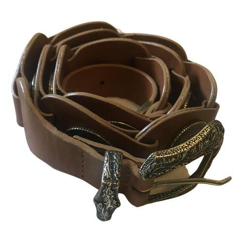Sézane Fall Winter 2020 leather belt