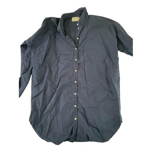 Acne Studios Blå Konst shirt