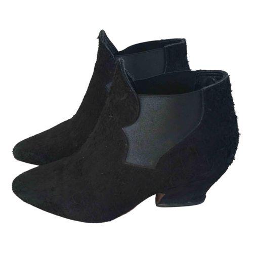Acne Studios Star western boots
