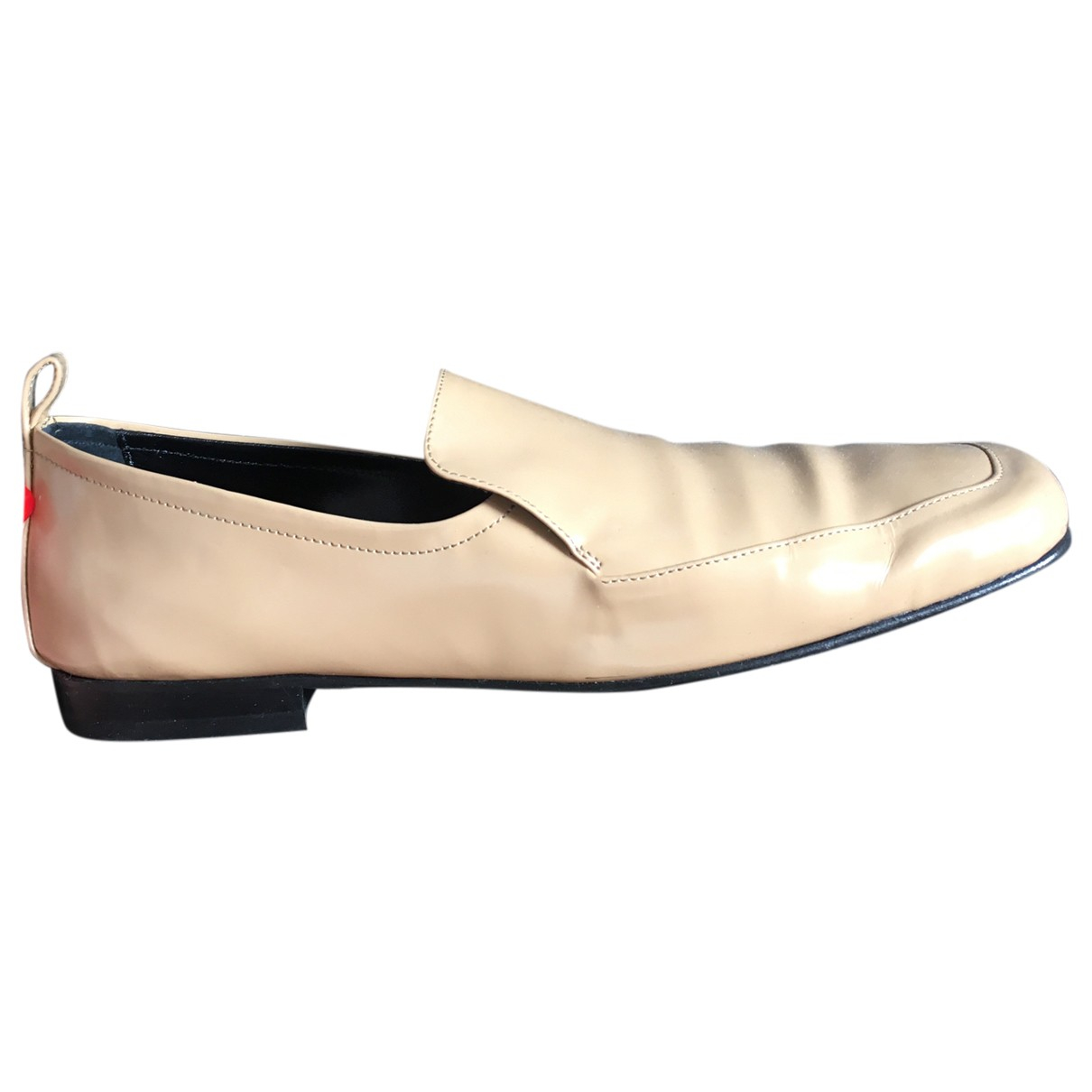 By Far Leather flats