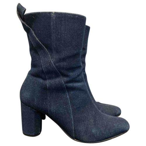 Ganni Cloth ankle boots