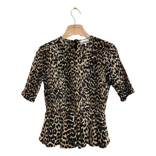 Ganni Spring Summer 2019 blouse