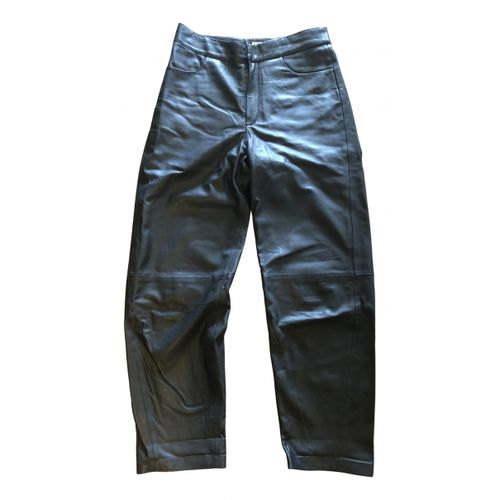 Totême Novara leather trousers