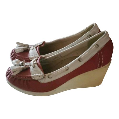 Ganni Leather heels