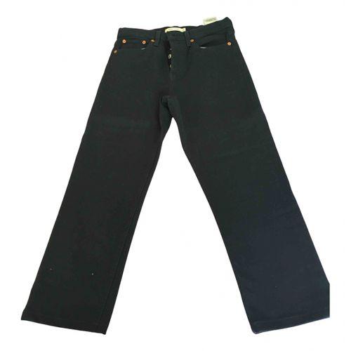 Levi's Black Cotton - elasthane Jeans