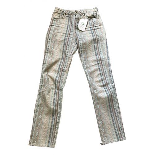 Sézane Multicolour Cotton Jeans