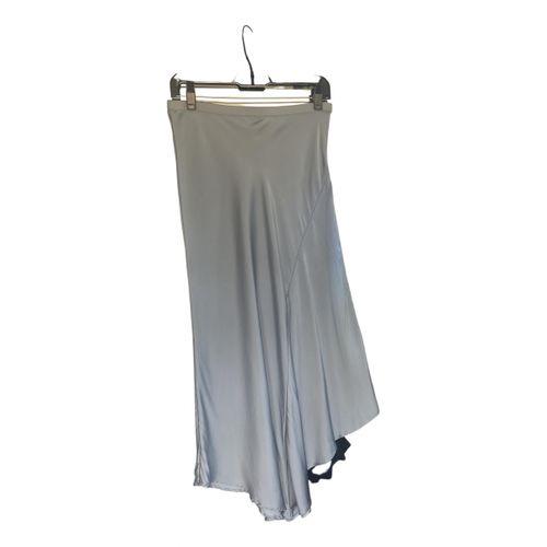 Anine Bing Spring Summer 2019 silk mid-length skirt