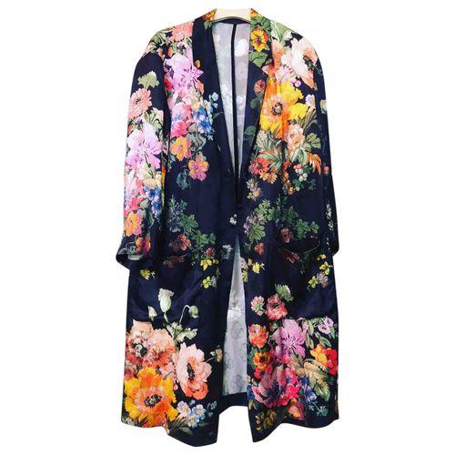 Dries Van Noten Silk trench coat
