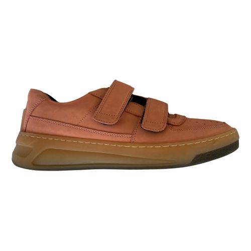 Acne Studios Steffey leather trainers