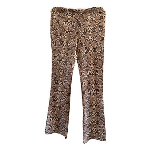 Anine Bing Camel Spandex Trousers