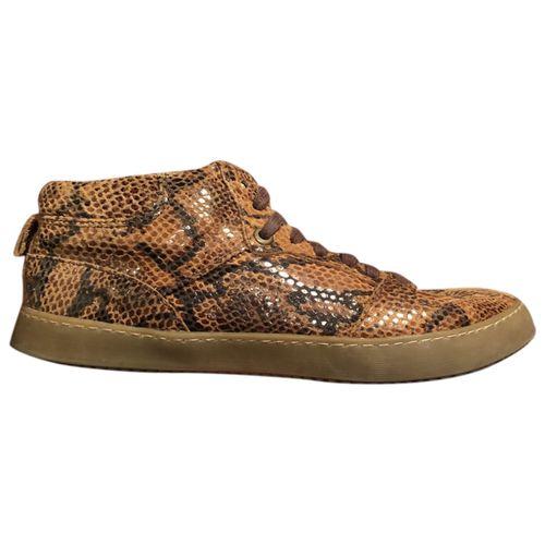 Ganni Leather lace ups