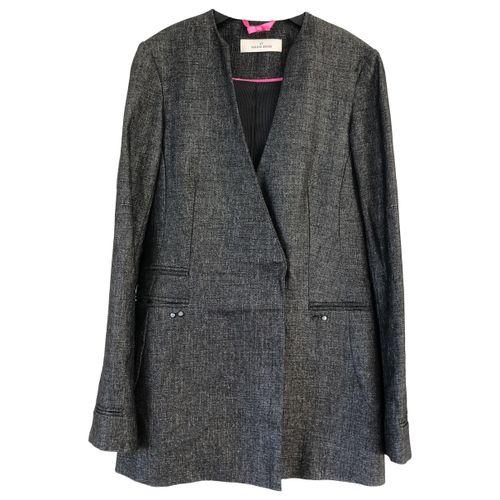 by Malene Birger Grey Synthetic Jacket