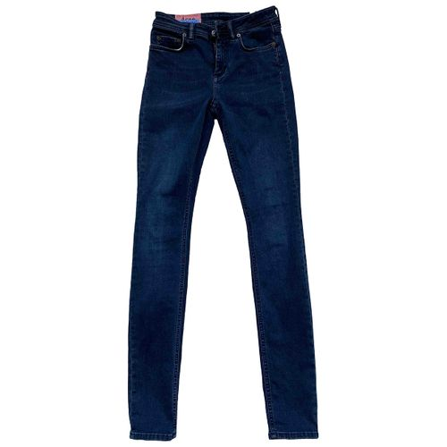 Acne Studios Blue Cotton Jeans
