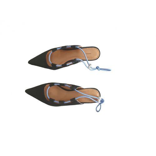 Ganni Cloth heels