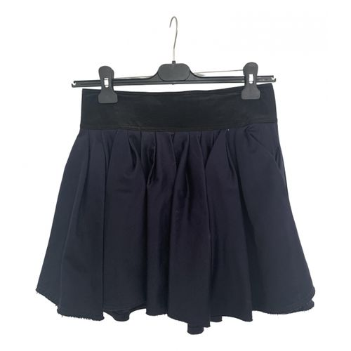 Acne Studios Silk mini skirt