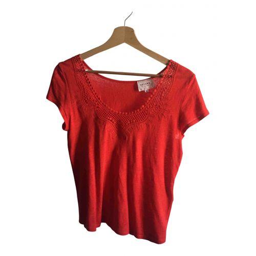 Sézane Spring Summer 2020 linen t-shirt