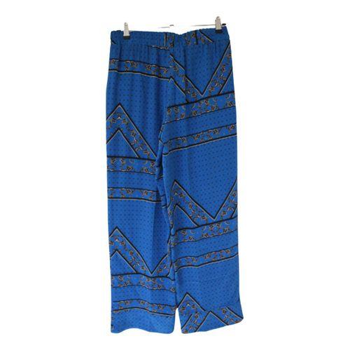 Ganni Spring Summer 2020 silk trousers
