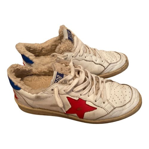 Golden Goose Ball Star leather trainers