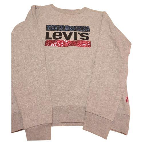 Levi's Grey Cotton Knitwear