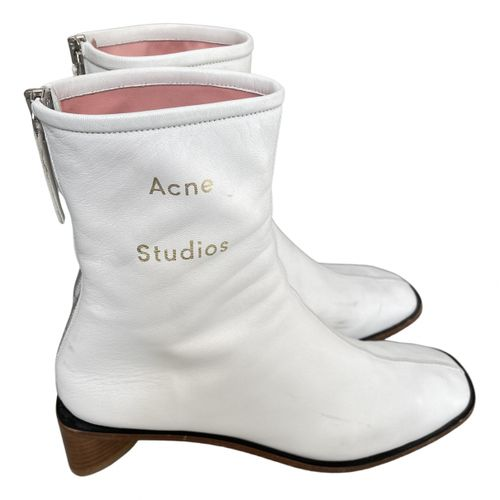 Acne Studios Leather ankle boots