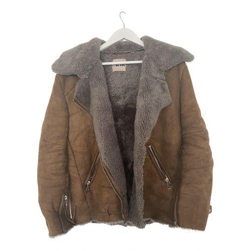 Acne Studios Shearling coat