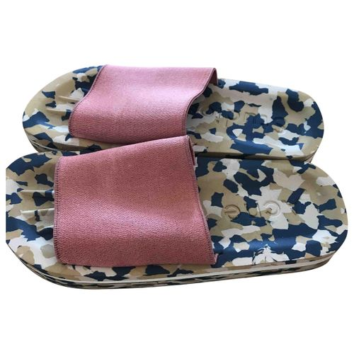 Acne Studios Pink Polyester Sandals