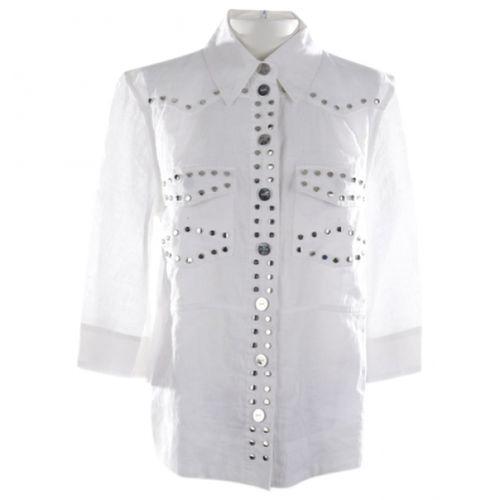 GANNI Ganni Linen blouse