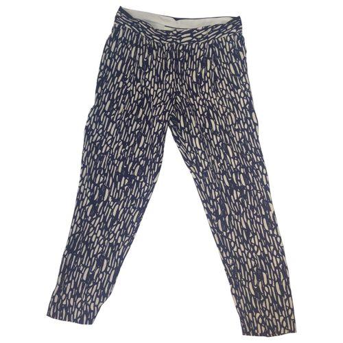 by Malene Birger Multicolour Viscose Trousers