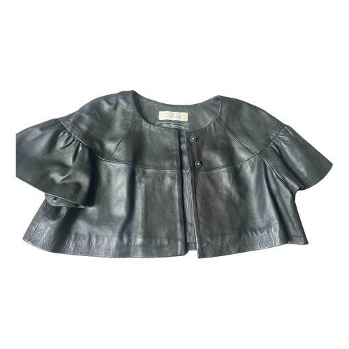 by Malene Birger Leather biker jacket
